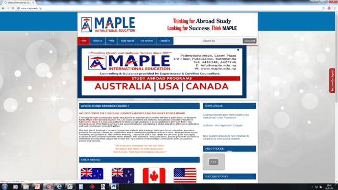 Maple Consultants & Abroad Services - Home | Facebook