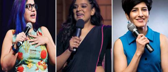 indian female standup comedians