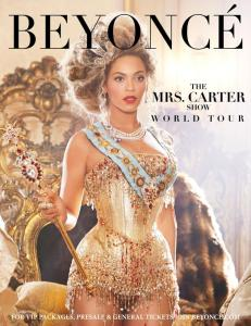 beyonce Mrs Carter world tour