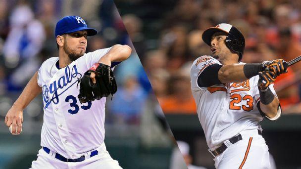 Orioles vs Royals