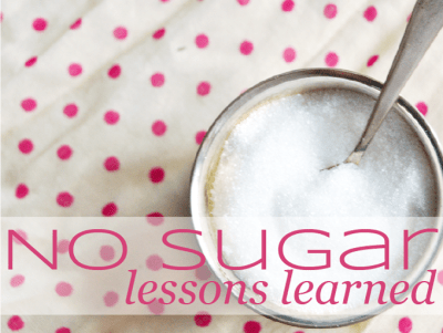 No-Sugar-Lessons-Learned