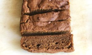 vegan pumpkin spiced bread