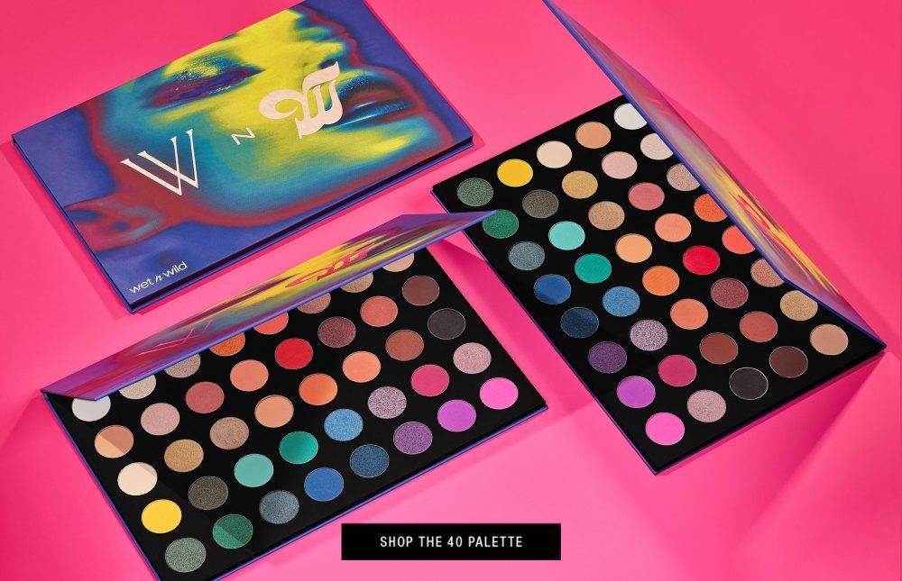 Wet N Wild 40 palette