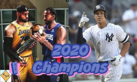 2020 sports