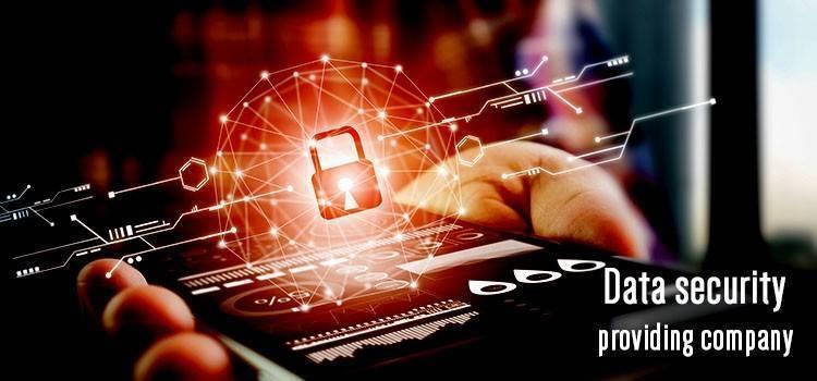 Data security providing company