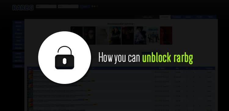 How you can unblock rarbg