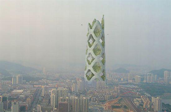 tour durable 3 Un projet de tour durable pour la ville de Shenzhen ...
