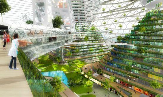 tour durable 4 Un projet de tour durable pour la ville de Shenzhen ...