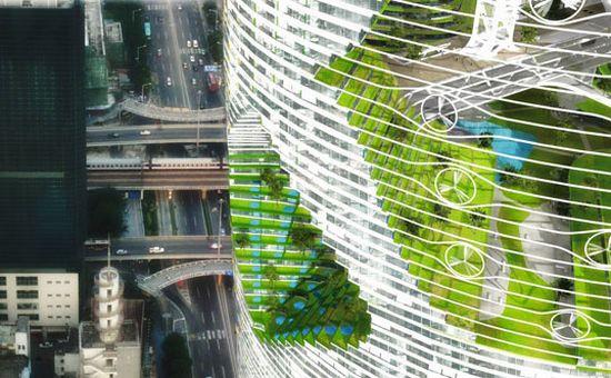 tour durable 5 Un projet de tour durable pour la ville de Shenzhen ...