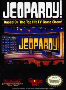 NES Jeopardy box