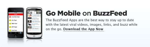 Get the BuzzFeed iPhone/Android App