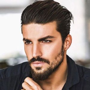 Men Swept back hairstyle 2020