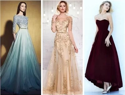 nice and elegant over flowing gowns