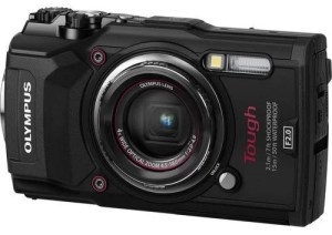 Olympus Tough TG-5 Camera - front view