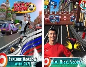 Cristiano Ronaldo - Kick n Run 3D Football Game
