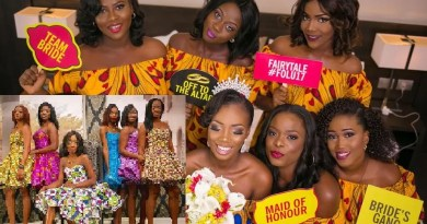 Wedding ankara fashion styles for bridesmaids
