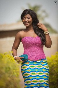 perfect sleeveless colour match ankara style