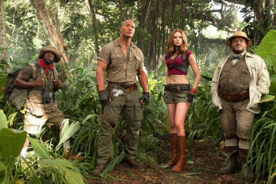 Buzz Review Of Jumanji: Welcome To The Jungle 5