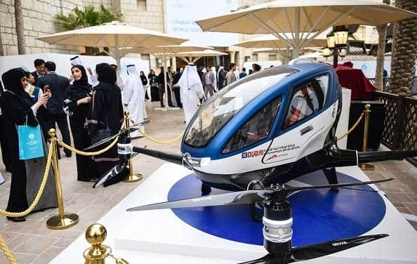 Uber Helicopter Service