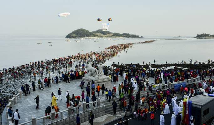 South Korea's Moses Miracle: The Jindo Sea-Parting Festival