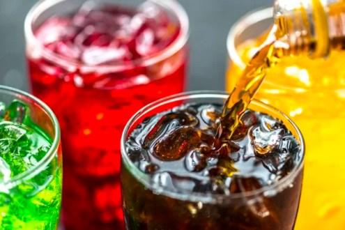 sugary  alcohol drinks