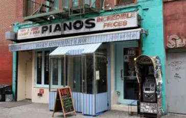 Pianos Bar Lower East Side NYC