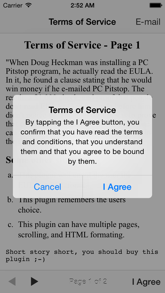 terms of service eula buzztouch plugin on Terms Of Service id=30478