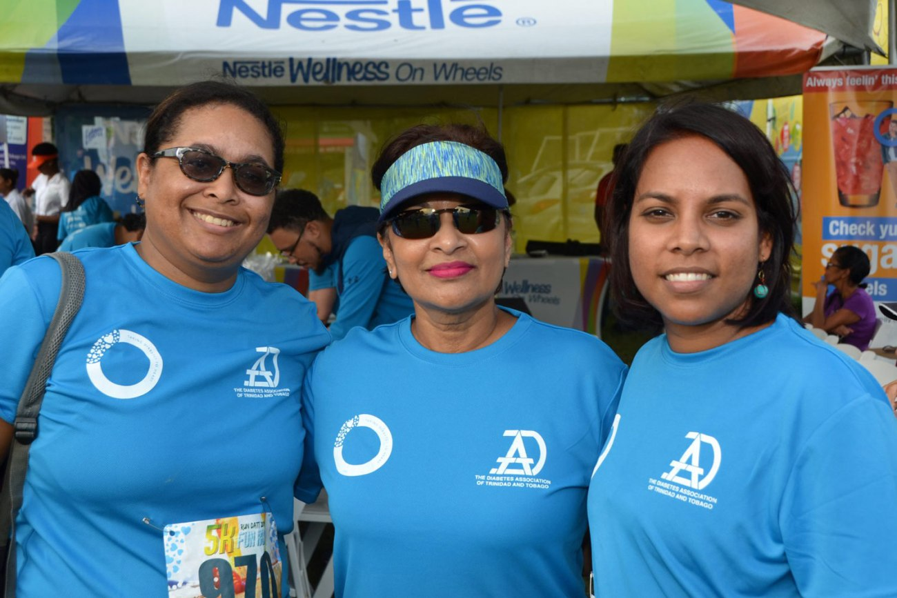 Three Women, Tatil Diabetes Day, 2019