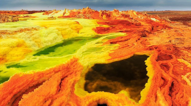 Dallol Volcanic Acid Pool, Ethiopia