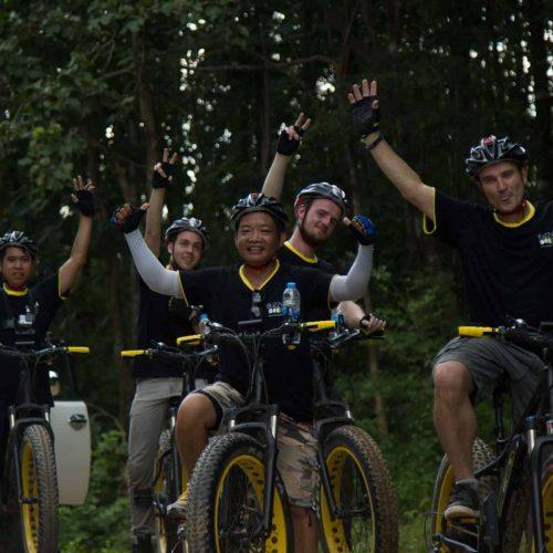 the winning team | Buzzy Bee Bike, Chiang Mai, Thailand