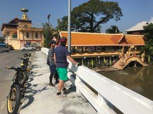 bridge over the Ping River | Buzzy Bee Bike, Chiang Mai, Thailand