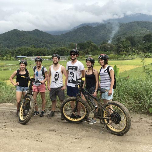 stop at Ban Pong | Buzzy Bee Bike, Chiang Mai, Thailand