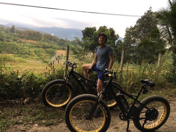 stop at old quarry | Buzzy Bee Bike, Chiang Mai, Thailand