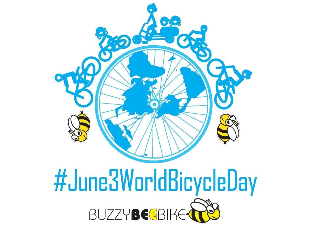 World Bicycle Day   Buzzy Bee Bike, Chiang Mai, Thailand