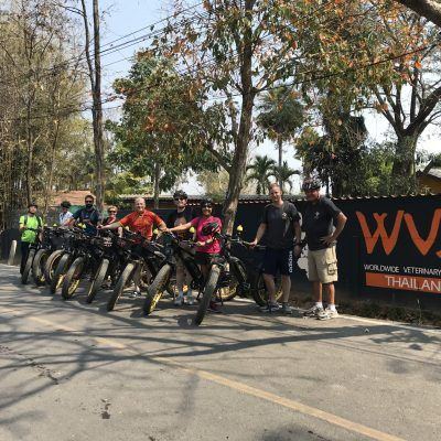 Bike for Dogs fundraising event | Buzzy Bee Bike, Chiang Mai, Thailand