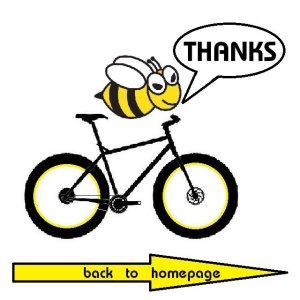 thanks | Buzzy Bee Bike, Chiang Mai, Thailand