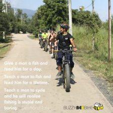 quotes - Desmond Tutu   Buzzy Bee Bike, Chiang Mai, Thailand