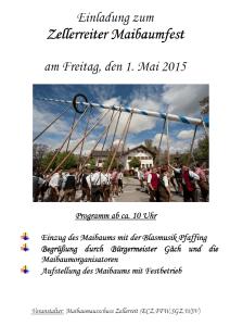 Maibaumfest 2015