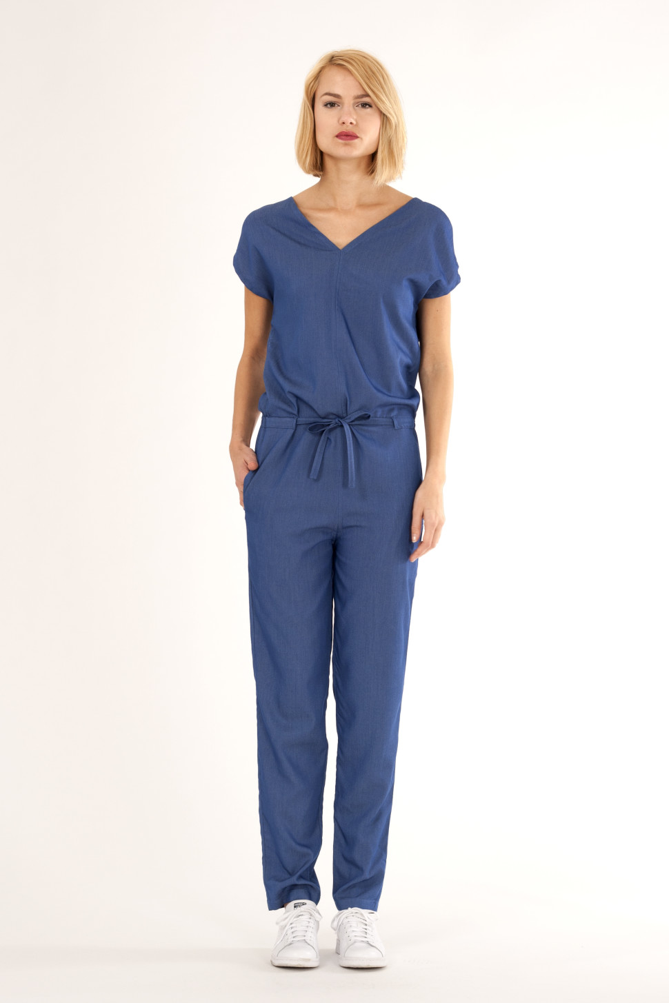 fbb19760938e Denim jumpsuit with very soft and comfortable feel. By Barbara van der  Zanden