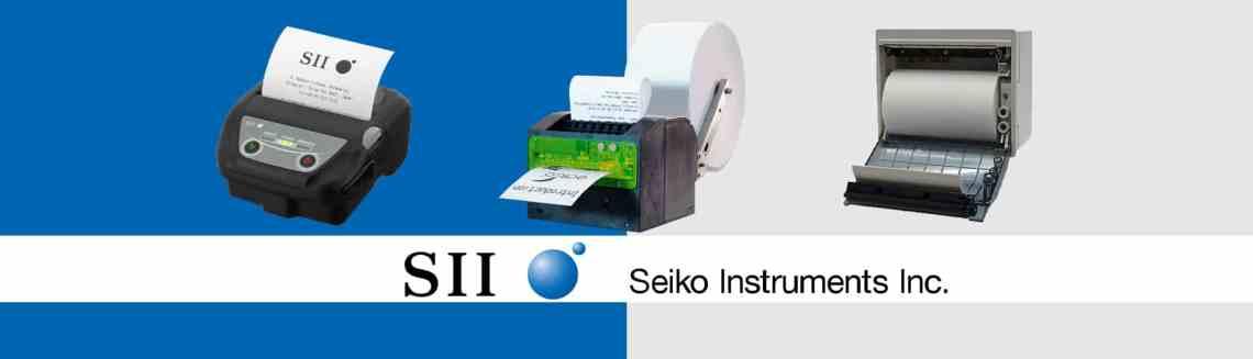 Seiko Thermal Printers and Print Mechanisms