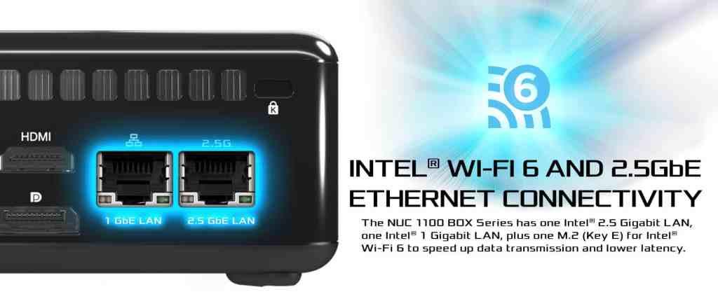 6 Wi Fi 62.5GbE