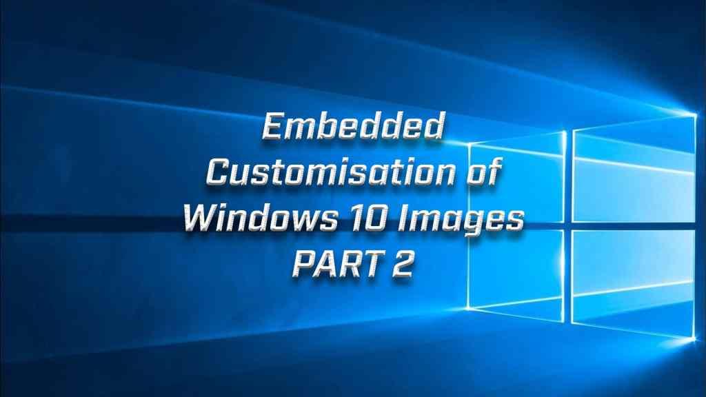 Custom Windows Part 2