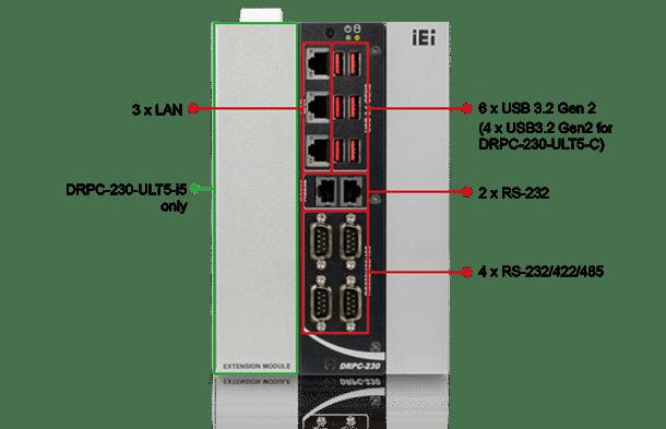 DRPC-230-ULT5 Front