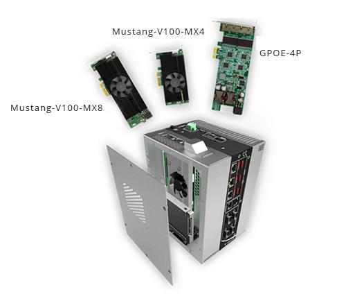 New Fanless DIN Rail Embedded System DRPC-230-ULT5