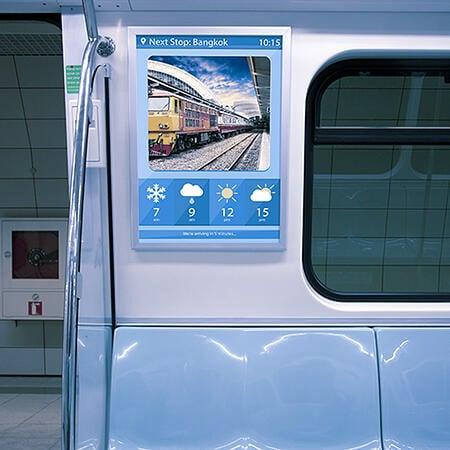 Railway Infotainment 1
