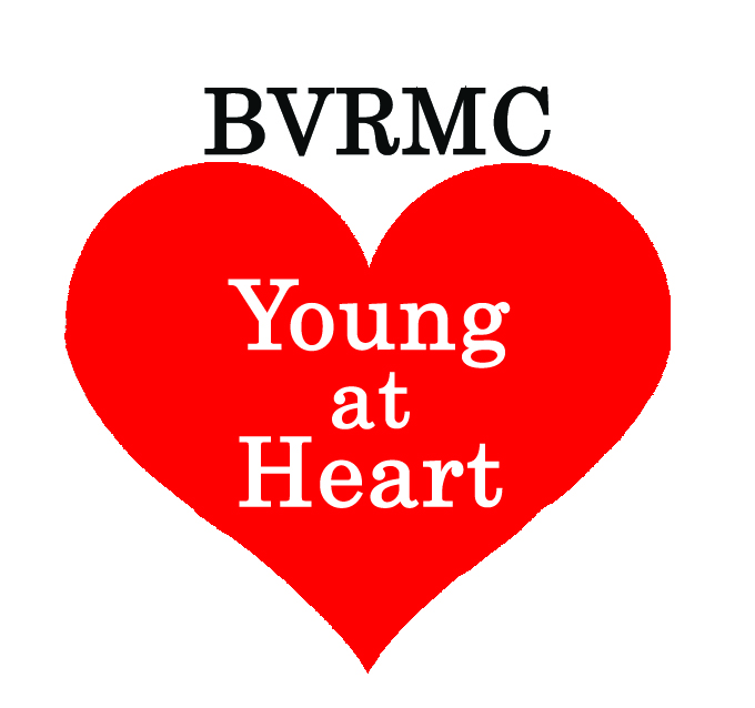 BVRMC Young at Heart Logo