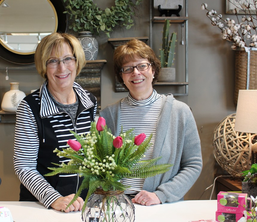 Patti and Barb Gift Shop Buyers