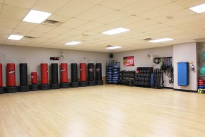 Fitness and Health Center room for classes.