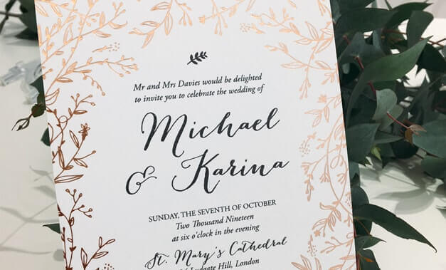 Wedding Invitations For Model The Design Of Your With Dekorativ Ideas Modern 5