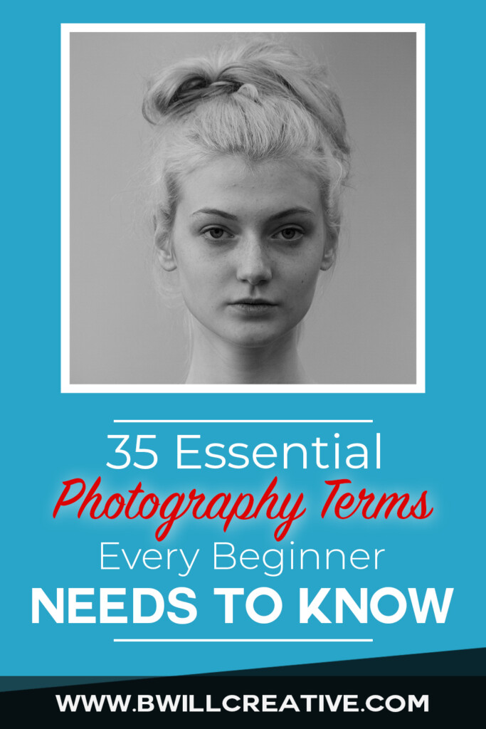 common photography terms for beginner photographers